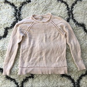 32f693bcf8 J. Crew Factory Sweaters - j. crew beach sweater with pointelle details